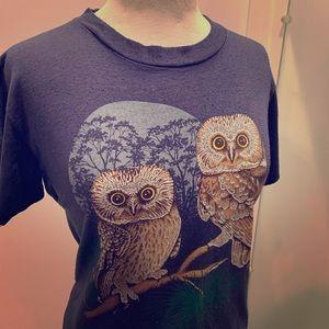 Vintage Owl T-shirt